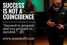 Success is not a coincidence / Success is not a coincidence. Most successful people followed a path and a plan that we can learn from and use as knowledge to create our own path of success.