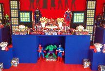festa super heróis