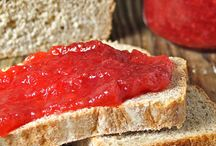 Jams, Jellies, and Preserves - Oh my! / Generally, delicious items put into jars to be enjoyed at a later time