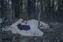 Dove dormono i bambini. Foto di Magnus Wennman
