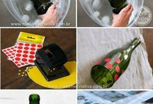 recycle glass bottles