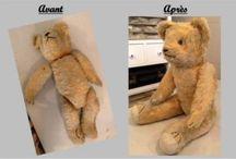 Les Ours anciens / La restauration des Ours anciens par Un Ours en Ville