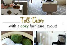 Seasonal Decor / Fall DIY decor 2015