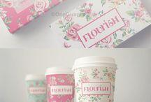 Coffee flowershop