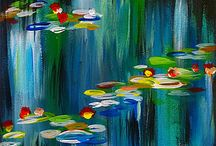 Shop Dip N Dab / Various products produced from paintings made by Dip 'N Dab artists.