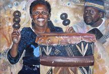 Schilderijen over Afrika
