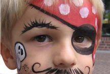 pirat schminken