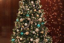 Türkiz karácsonyfa