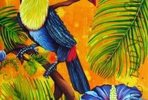 Applikationen TUKAN Vögel Afrika
