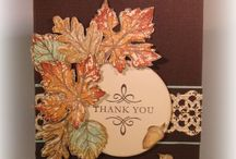 Card Ideas - Thank You / by Bobbie Sumpter