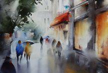 rain (비 오는 풍경)