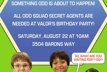 CAMILA´S BIRTHDAY / Images and Ideas about Camila´s ODD SQUAD Birthday Party.
