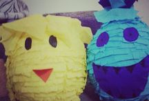 My Piñatas / My DIY pinatas!