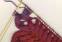 Необычные техники вязания!