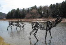 designs- sculptures- animals / by margaret
