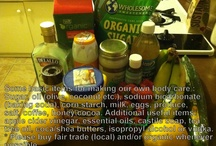 Let's make our own....body care!! / Time to break old habits.....we don't need brand name body care!!