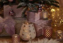 Romantic Harmony / Helle Farben und besonders liebevolle Dekorationen sorgen für eine romantische Weihnachtsstimmung.