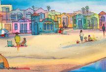 Caroline McClintic / Watercolors by Caroline McClintic
