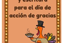 Spanish Thanksgiving / Great resources for teaching about Thanksgiving in Spanish class.  4 non-product pins for every product pin.  Email me worldlanguagecafe@gmail.com with any questions.