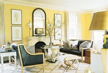 Yellow on my Wall / Brightly inspired spaces!