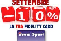 Settembre - Fidelity Card