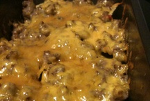 Ground beef recipe! / by Amber Allen