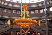 ballon decoraties - balloon decorations / www.ballondecor.nl  Ballon decoraties voor feesten, winkelcentra, openingen trouwerijen. Sinds 1995 onvergetelijk creatief
