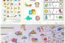 Never ending Alphabet activities