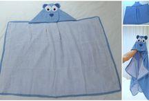toalha com capuz