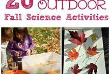 Outdoor Activities: Fall