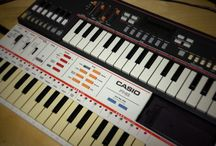 Music Toys / Synths, organs, toy keyboards, you name it! If it makes a noise it's a potential sound and music source for me...