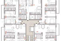 Apartments plans