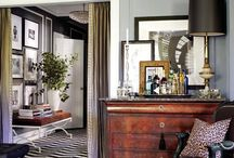 animal print / take a walk on the wild side: animal prints add a dose of exotic chic to any room