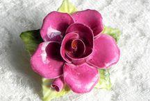 Розы винтаж антик