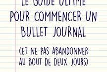 Mon bullet-journal