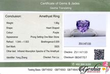 Gemstone Jewelry Certificate / Gemstone Jewelry Certificates GIC is the abbreviation of Gemmological Institute of China University of Geosciences.Gemmological Institute of China  University of Geosciences was founded in 1992 and it is the first gemmological institute in China. Now it is one of the  most authoritative gemstone identification institutes in the world.