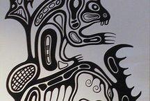 Haida Art (including Marc Anthony Jacobson's)