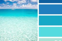 Colour Palettes / beautiful colour combinations to try for house decorating or whatever you like