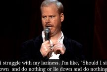 Hooooot pockets / Jim Gaffigan