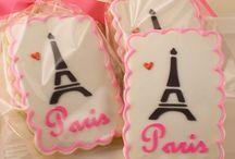 Dorty a cukroví-téma Paříž