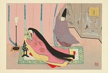 Scenes from Tale of Genji / by Anna Pajunen