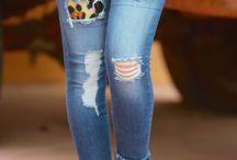 calças jeans custumizadas