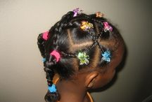 little girl hair styles / by Nique Crump