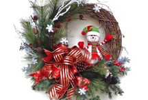 Adventné,Vianočné vence