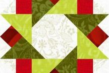 Quilt blocks -Xmas