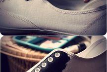 DIY cipők