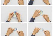 Geldschein-Origami