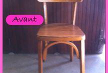 L'Atelier d'Aurélie : Relooking de meubles et détournement d'objets  / L'Atelier d'Aurélie vous propose de donner une seconde vie à vos meubles ainsi que des créations uniques et insolites à partir de matériaux de récupération.