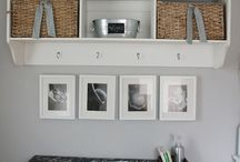 Nursery wall storage