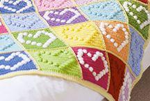 Crochet: Blankets / Crochet blanket patterns and ideas